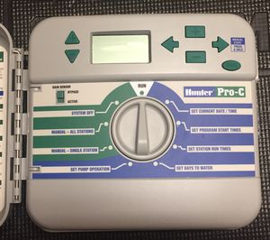 Hunter Pro C 9 station Sprinkler Control Panel for Sale in Sugar Grove, IL