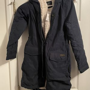 Brand New Sherpa- Lined Military Parka - Navy Blue - XS - Retails for $200 for Sale in Winder, GA