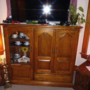 53H X 59W X 21D TV Stand for Sale in University Place, WA
