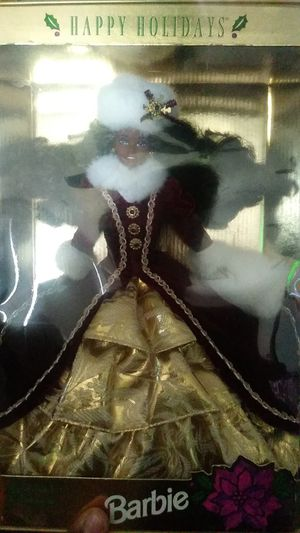 Mint condition collectable Special Edition Happy Holidays Barbie for Sale in Pomona, CA