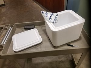 Foam cooler for Sale in Dallas, TX