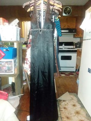 Jump Brown silk rhinestone dress for Sale in Selinsgrove, PA