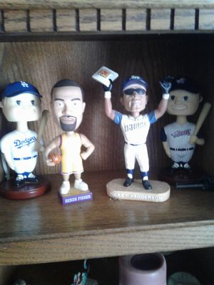 Padres Broken Bat Authentic and Collectable bobble Heads and more for Sale in San Diego, CA