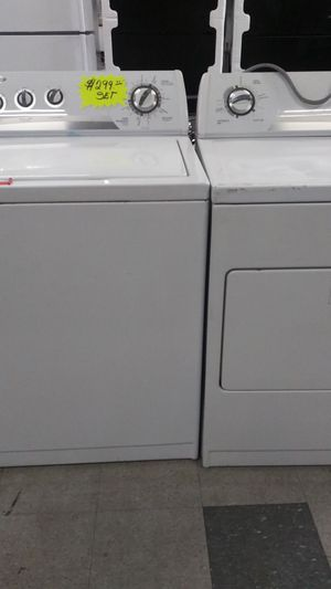 Whirlpool. Set dryer and washer. Ingood condition for Sale in Elkridge, MD