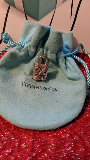 Tiffany & Co Bow Box Padlock Charm for Sale in McKeesport, PA