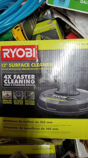 "Ryobi 12"" surface cleaner for use with electric pressure washer for Sale in Saint Charles, MO"