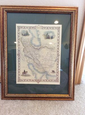 Map of Persia for Sale in San Diego, CA