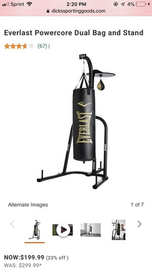 Everlasting Dual Bag & Stand for Sale in Jarrettsville, MD