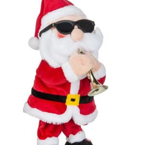 15 in Animated Plush Musical Santa Trumpet Player for Sale in Houston, TX