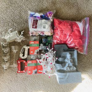 Holiday Decors - Sets Of Lightings, Candle Holders, Letter Lights And Many More.. for Sale in Scottsdale, AZ