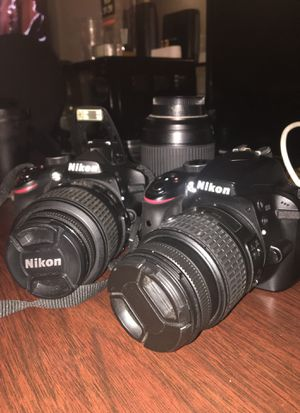 DSLR Nikon Camera's for Sale in San Antonio, TX