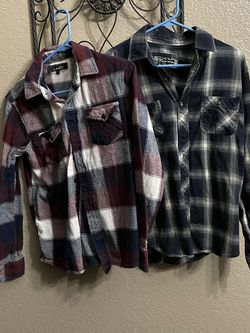 Junior Boys Small Flannels Good Condition for Sale in Riverside,  CA