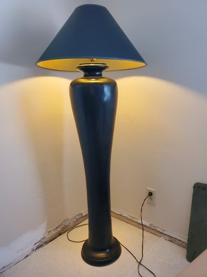 Floor lamp with new shade. for Sale in Scottsdale, AZ