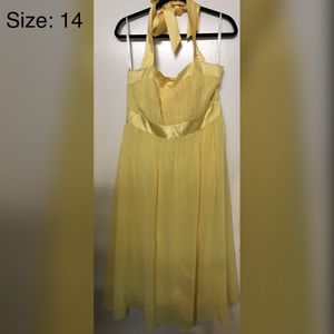 Yellow Evening Dress Size 14 (#021) for Sale in Oakland, CA