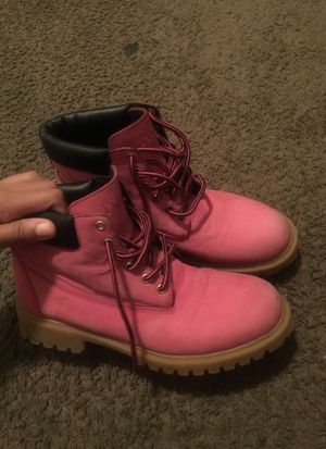 Polo pink boots *ralph Lauren for Sale in Warren, MI