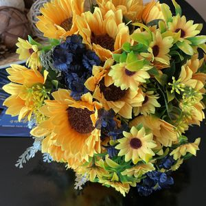 Sunflower bridal And 5 Bridesmaids Bouquets for Sale in West Palm Beach, FL