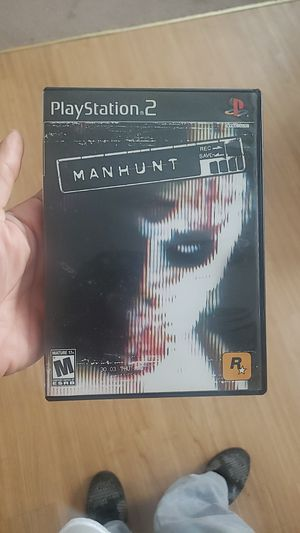 classic Manhunt game for ps2 for Sale in Providence, RI