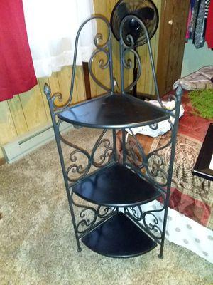Rod iron corner shelf for Sale in Mansfield, OH