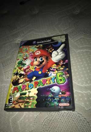 Mario party 6 (GAMECUBE for Sale in Sacramento, CA