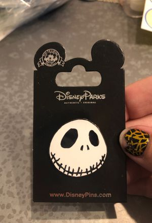 Nightmare before Christmas Jack Pin for Sale in Pompano Beach, FL