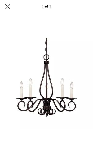 Savoy house 5-light chandelier for Sale in Los Angeles, CA