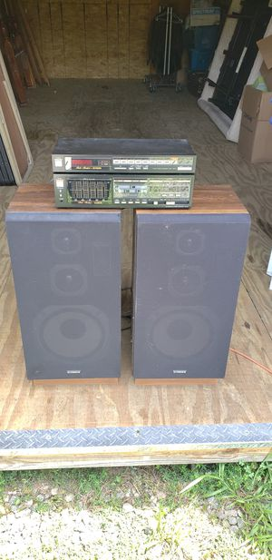 Fisher Stereo System-Tuner FM-67,Amplifier CA-67,Speakers DS-822 for Sale in Quinton, VA