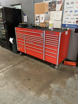 Snap on triple bank hd tool box for Sale in Fontana, CA