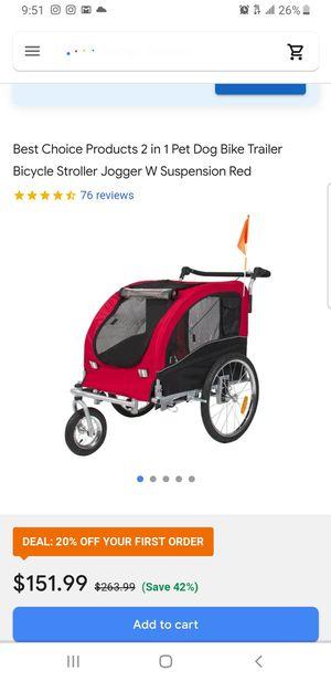 Dog stroller for Sale in Rosemead, CA