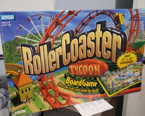 Roller coaster tycoon board game for Sale in Wheeling, IL