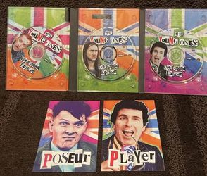 The Young Ones: Every Stoopid Episode - BBC Video DVD 2002 3-Disc Set for Sale in Chapel Hill,  NC