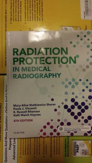 Radiation Protection in Medical Radiography, 8th ed. for Sale in HILLTOP MALL, CA