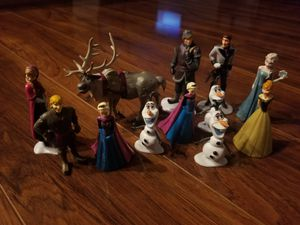 Frozen & Doc Mcstuffins figurines/small toys for Sale in Riverview, FL
