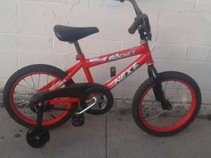 16in Rocket Bike with training wheels for Sale in South Gate, CA