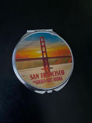 San Francisco Golden Gate Bridge Pocket Mirror for Sale in Ithaca, NY