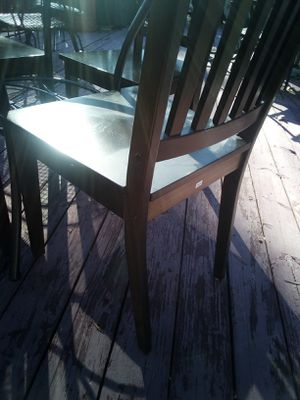 4 wooden chairs for Sale in Cumberland, VA