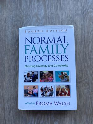 Psychology Book (Normal Family Processes) for Sale in Tustin, CA
