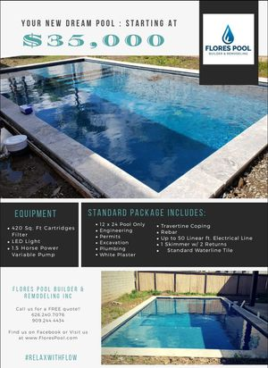 Pool construction for Sale in Fontana, CA