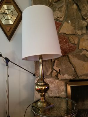 Vintage 1960s Stiffel Mid Century Solid Brassy Heavyweight Table Lamp for Sale in Las Vegas, NV