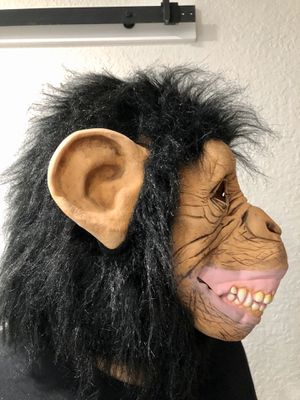 Realistic Monkey mask for Halloween or costume party for Sale in Miami, FL