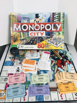 2009 Hasbro Monopoly City Board Game for Sale in Pawtucket, RI