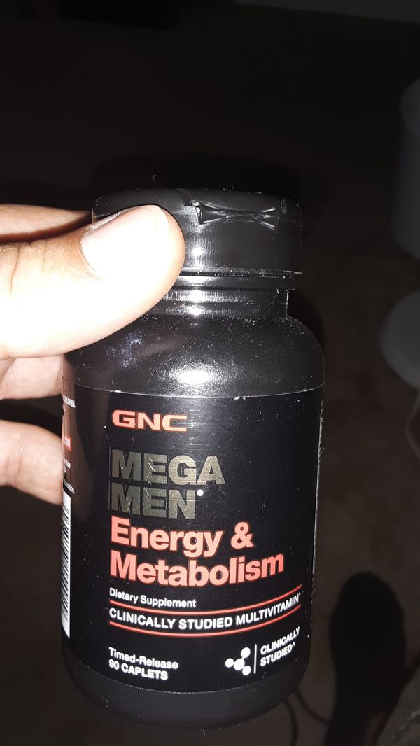 BBC mega men energy & metabolism