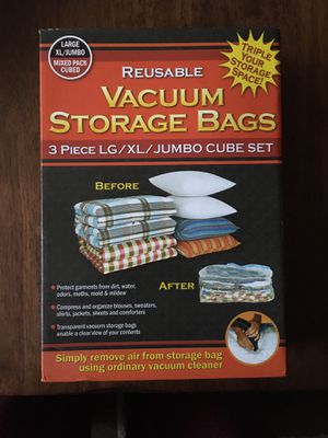 Vacuum storage bags for Sale in Fremont, CA