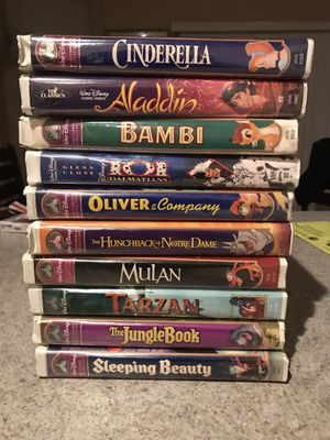 Disney VHS 10 Lot for Sale in Fort Worth, TX