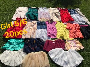girl clothes 5-6y FIRM PRICE NO DELIVERY CASH OR TRADE FOR BABY FORMULA for Sale in Los Angeles, CA