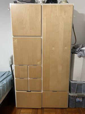 Large ikea wardrobe/dresser - Rakke for Sale in Washington, DC