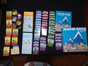 Machi Koro (2012) + 2 Expansions for Sale in Cedar Falls, IA