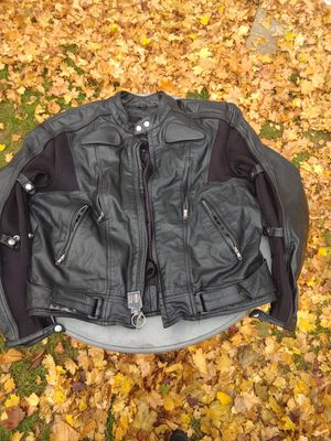 Leather Riding Biker Jacket for Sale in Vancouver, WA