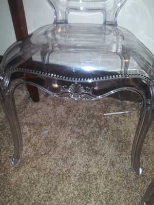 Willing to negotiate. Two princess chairs. From hobby lobby check the price. for Sale in Lynchburg, VA