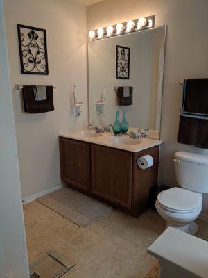 Bathroom Items - Light, Toilet, Mirrors, Picture for Sale in San Antonio, TX