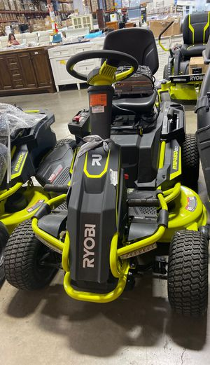 38 in. 100 Ah Battery Electric Rear Engine Riding Lawn Mower for Sale in Houston, TX